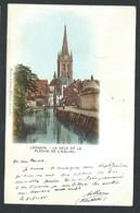 +++ LOUVAIN - LEUVEN - La Dyle Et La Flèche De L'Eglise - Couleur 1901   // - Leuven