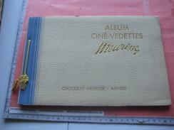 MEURISSE Ciné-vedettes, Chocolat Album Complete, 100 Filmstars Small Photo Cards, Pre-war Excellent Condition - Chocolat