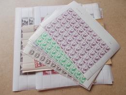 Lot N° 474  FRANCE Un Lot De Feuilles Neufs ** Année 1940 / 1950 ,     / No Paypal - Postzegels