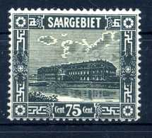 1922 SARRE N.96 * - 1920-35 Società Delle Nazioni