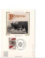 CARTE MAXIMUM 1983 EUROPA - LA PHOTOGRAPHIE - Maximumkaarten