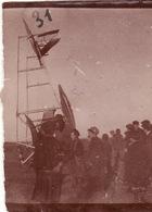 Photo 1915 Camp (champ) D'aviation De PRUNIERS-EN-SOLOGNE (Romorantin) - Accident D'avion, Caudron G 3 (A202, Ww1, Wk 1) - Romorantin