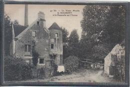 Carte Postale 91. Rochopt  Le Vieux Moulin Et La Passerelle Sur L'Yerres Très Beau Plan - Andere Gemeenten