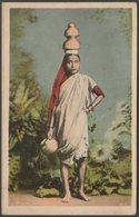 Milk Woman, India, C.1910 - Postcard - India