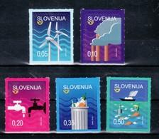 1243 Slowenien Slovenia 2018 Mi.No. 1327 - 1331 ** MNH Environmental Clean Air Water Reducing Waste Sea - Umweltschutz Und Klima