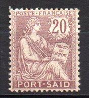 Col10    Port Said  N° 27 Neuf X MH  Cote : 3,50  Euro Cote 2015 - Unused Stamps