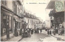 Dépt 91 - PALAISEAU - Rue De Paris (et Place De La Mairie) - Boulangerie BESLÉ - ELD N° 32 - écrite Par E. BIÉTRIX - Palaiseau