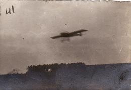 Photo Avril 1915 Camp (champ) D'aviation De ROMORANTIN - Atterrissage D'un Morane Saulnier 12, Avion (A202, Ww1, Wk 1) - Romorantin