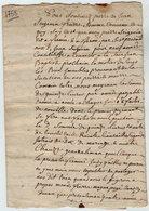 VP13.292 - RUELLE SUR TOUVRE - Acte De 1758 - Bail à Ferme - Manuscripts