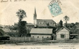 N°65616 -cpa Livarot  -vue Sur L'église- - Livarot