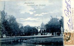 N°65617 -cpa Amsterdam -Vondelpark Met Pavilhoen- - Amsterdam