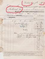 Bordeaux Ludon Médoc 1887 Chais Rolland Fils Propriétaire Du Cru Lemoine Vin Vins Fins & Spiritueux - France