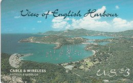 Antigua And Barbuda - View Of English Harbour - Antigua And Barbuda