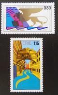 SAUVEGARDE DE VENISE 1972 - YT 543/44 - MI 579/80 - Algérie (1962-...)