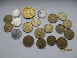 ESTONIA LOT OF COINS INCL. 5 KROONI 1993 , 0 - Estonia
