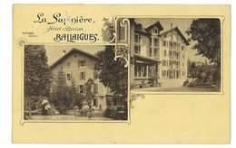CPA SUISSE BALLAIGUES LA SAPINIERE HOTEL-PENSION - Autres