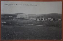 CPA GRAND HALLEUX Vielsalm Feldpost Bastnach Bastogne Panorama De L'institut Johannium Luxembourg Ardenne - Vielsalm