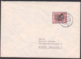 Moschusochse, Vom Aussterben Betrohte Tiere, 35 Pf DDR 2527 Nach Hannover Aus Eisenberg - Sperrwertfrankatur - Briefe U. Dokumente