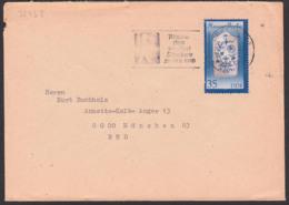 """Meissner Porzellan Zwiebelmuster, 35 Pf DDR 3243, MWSt. """"Woche Des Weißen Stockes 1989"""" Dresden - Briefe U. Dokumente"""