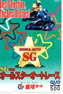 Carte Prépayée Japon Moto Motor Sports - Sport  Card (G 465) - Motos