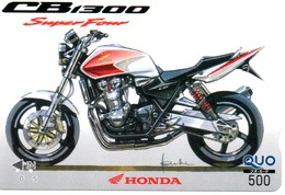 HONDA Carte Prépayée Japon Moto Motor Sports - Sport  Card (G 466) - Motos
