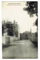 ALLIER 03 DOMPIERRE SUR BESBRE Rue De Tivoli L'Ecole Des Garçons Carte Rare - Autres Communes