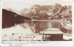 ITALIA - LAGO DI MISURINA Col Sorapis N° 4 - Carte Photo De 1907 - Belluno