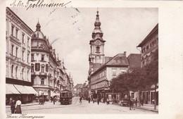 Austria Oostenrijk Graz Herrengasse  Tramway 1926 - Other