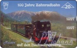 """TWK Österreich Privat: """"Zahnradbahn, 100 Jahre"""" Gebr. - Oesterreich"""
