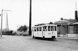 Enghien (station SNCB). SNCV Brabant. Cliché Jacques BAZIN. 8-6-1953 - Trains
