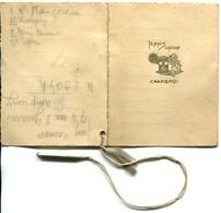 Charleroi Tennis Union Carnet De Bal 14 Janvier 1933 - Colecciones