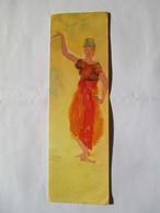 Marque Page Auguste Rodin , Danseuse Cambodgienne  Cartes D'art - Marque-Pages