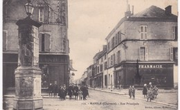 16 Charente - MANSLE - Rue Principale - Pharmacie - 1912 - Mansle