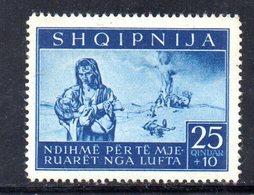 562D/1500 - ALBANIA Tedesca 1944 , Vittime Di Guerra (sassone N. 18, Yvert N. 315)  ***  MNH - Albania