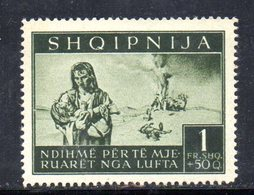 562E/1500 - ALBANIA Tedesca 1944 , Vittime Di Guerra (sassone N. 19, Yvert N. 316)  ***  MNH - Albania