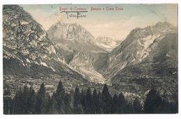 Cartolina - Postcard / Viaggiata - Sent / Bagni Di Comano, Banale E Cima Tosa (spellatura Al Centro) - Italia