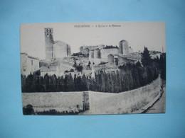 PUICHERIC  -  11  -  L'Eglise Et Le Château  -  AUDE - France