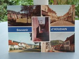 Très Belle Carte Souvenir D'houdain - Houdain