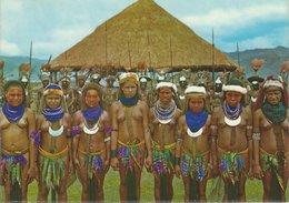 Papua New Guinea.Mount Hagan Show Grounds. Native Girls.    B-3302 - Postcards