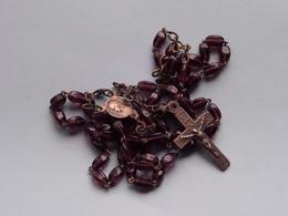 PATERNOSTER ROZENKRANS CHAPELET ROSARY CHAPLET ( Zie/voir Photo Voor/pour Détail ) ! - Religion & Esotérisme