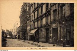 VINCENNES  Rue Lejemptel.   2 Scans  Très Bon état - Vincennes