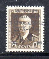 567C/1500 - ALBANIA 1944 , Soprastampato Yvert N. 305  ***  MNH - Albania