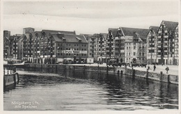 AK Königsberg Kaliningrad Калинингра́д Pregel Alte Speicher Lager Bruno Wohlfahrt Hafen A Tilsit Sowetsk Memel Klaipeda - Ostpreussen
