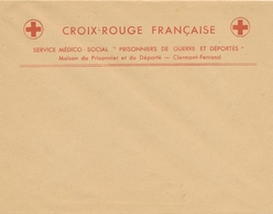 CROIX-ROUGE Maison Du Prisonnier Et Déporté CLERMONT- FERRAND PUY DE DÔME Sur Lettre à En-tête SERVICE MEDICO-SOCIAL - Documentos Históricos