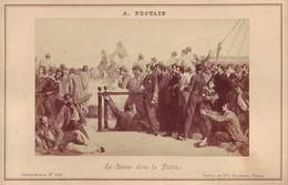 Photographie Sur Carton Fort - Le Retour Dans La Patrie - Peinture  De Auguste Protais - Guerre De 1870 - Ancianas (antes De 1900)