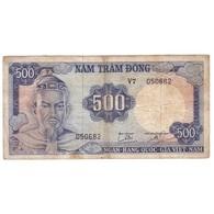 VIETNAM - PICK 23 A - 500 DONG - NON DATE (1966) - TB/TTB - - Viêt-Nam