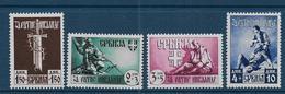 SERBIE - Occupation Allemande - Série 68 à 71 ** - Serbie