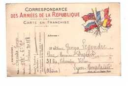 Correspondance Militaire Guerre 1914 1918 Legendre Georges 128e 6e Cie Secteur 118 24 Décembre 1914 Veille Noel - Guerra 1914-18