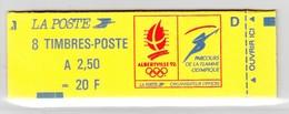 France Carnet N°2715C1 Lettre D Conf 9  Type Marianne De Briat Lot 382 - Carnets