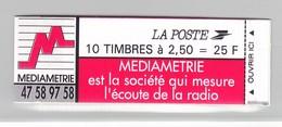 France Carnet N°2720C3  Type Marianne De Briat Lot 392 - Definitives